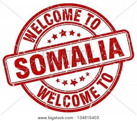 welcome to Somalia stamp. welcome to Somalia.