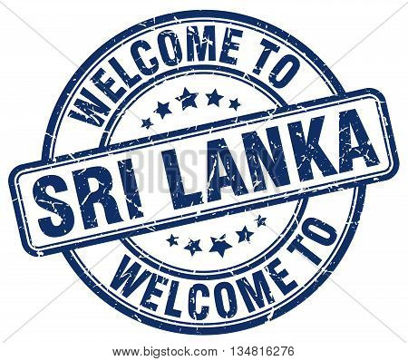welcome to Sri Lanka stamp. welcome to Sri Lanka.