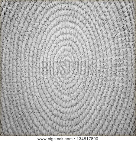 The circle basketry pattern texture or background