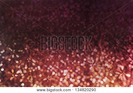 Colourful Spark And Glow Colourful Shining Bokeh Light In Sweet Violet Purple And Pink Pastel Colour