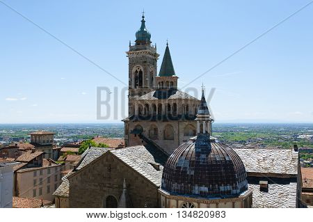 Cathedral In Bergamo, Lombardy, Italy