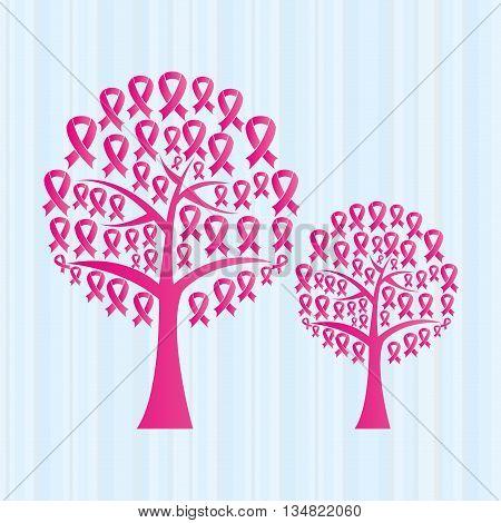 breast cancer awareness design, vector illustration eps10 graphic