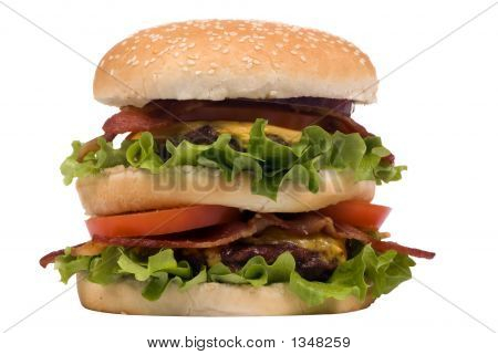 Hamburger Series (Bacon Cheeseburger)
