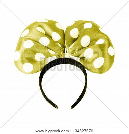 headbands isolated on a white background, hairpin, headband hairstyle