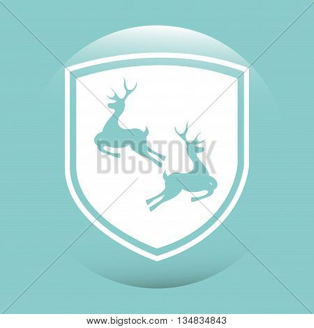 hunting zone design, vector illustration eps10 graphic