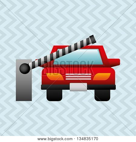 parking zone design, vector illustration eps10 graphic