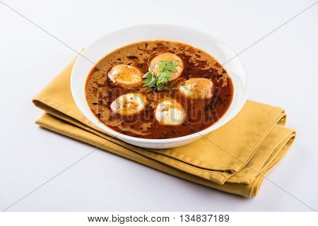 Indian famous Egg Masala curry / Anda Curry / Anda Masala curry / egg curry masala