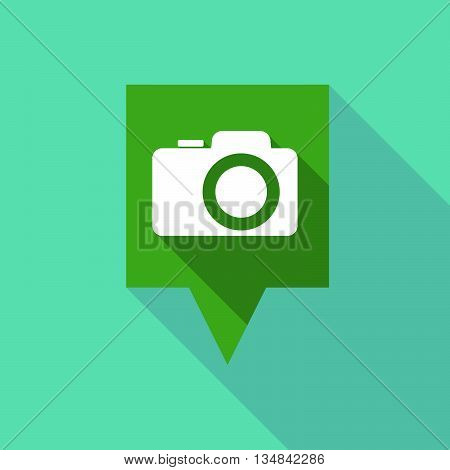 Long Tooltip Icon With A Photo Camera