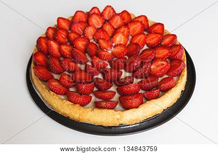 Strawberry Tart, Strawberry Flan