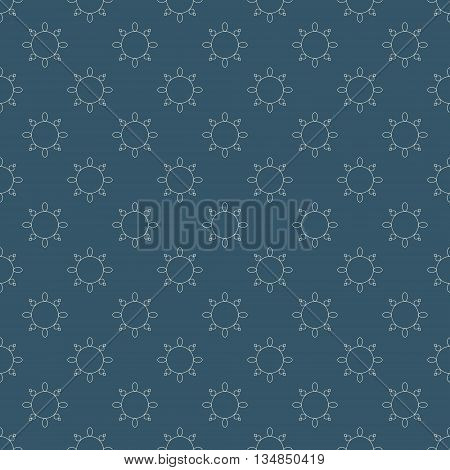 Vector illustration for backgrounds and patterns in arabic style.