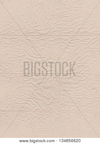 surface of brown paper tissue and crumpled on rumpled texture for the design background.