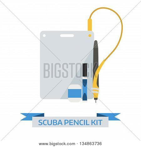 Underwater Scuba Pencil Kit