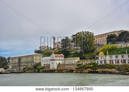 Alcatraz Island - San Francisco California USA