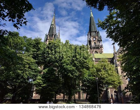 Lviv Neo-gothic Cathedral