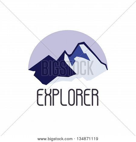 Mountain adventure and expedition logo badges collections. Travel emblems vector EPS10