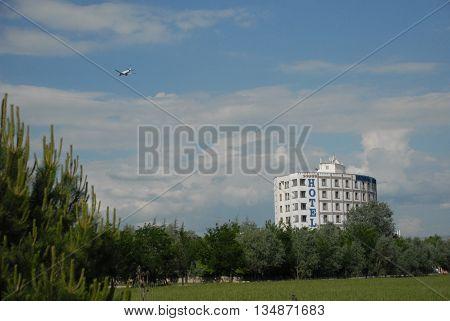 ANKARA/TURKEY-June 5, 2016: Five Stars Esenboga Airport Hotel at the Saray Region. June 5, 2016-Ankara/Turkey