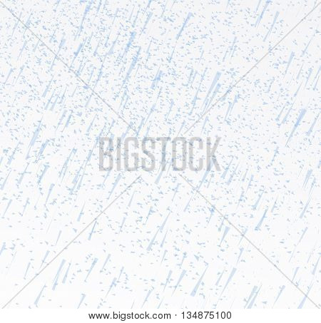 Rainy sky vector illustration on a white background
