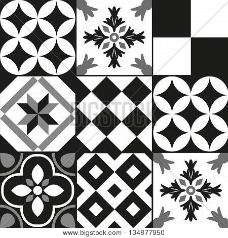 Cement Tile Background