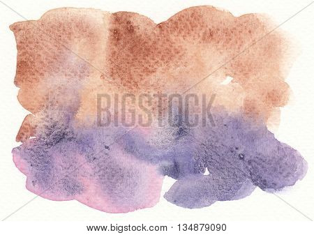 rough dirty textures abstract purple brown watercolor background