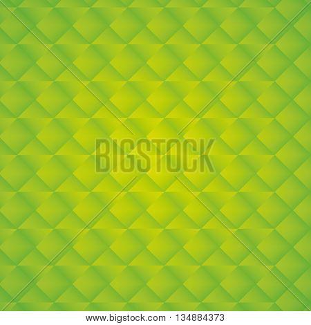Green wallpaper with green tones. texture perspective. vector graphic