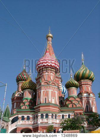 Beautiful Church In Moscow