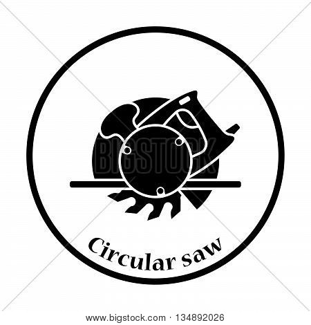 Icon Of Circular Saw