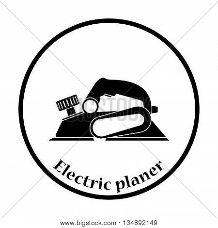 Icon Of Electric Planer