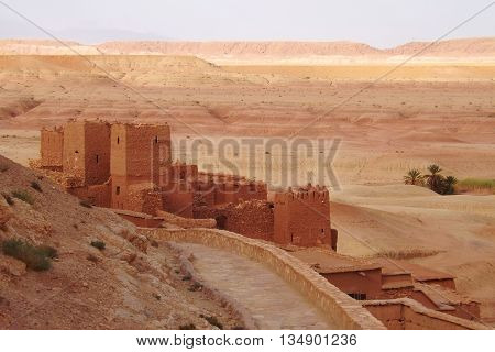 Castle in the desert, Ait Ben Haddou, Morocco