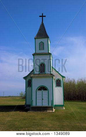 Country Church On The Prairie