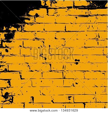 Brick Texture. Brick Background. Brick Effect. Distressed texture. distressed background. grunge texturegrunge background. Damaged texture. Overlay texture background. Crack texture