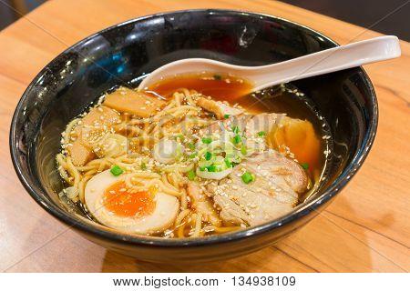 Ramen Shoyu Japanese food style 3 for eat