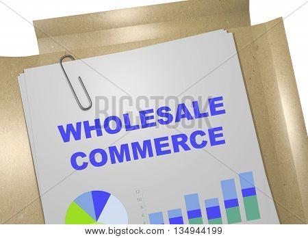 Wholesale Commerce Business Concept