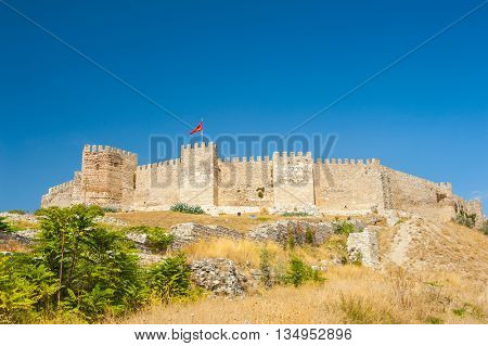 Ancient Roman Castle on Ayasoluk Hill, Selcuk, Turkey