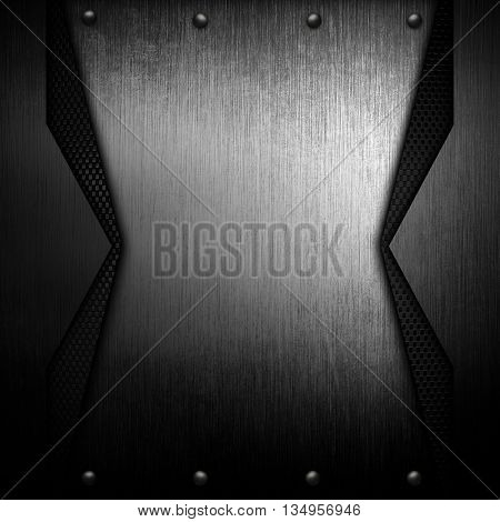 patter of metal template background