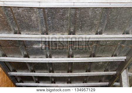 Overlap With Galvanized Iron Roof