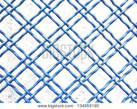 Blue Fence Background Pattern