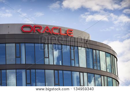 Prague, Czech Republic - June 18: Second Largest Software Company In The World Oracle Corporation Lo