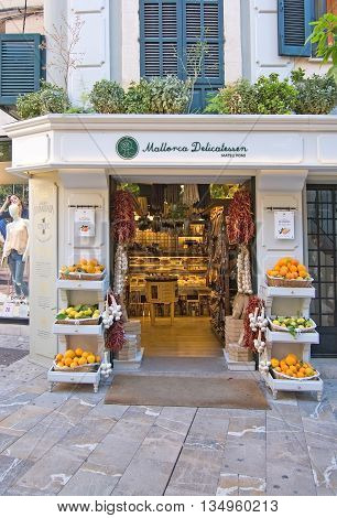 Mallorca Delicatessen Store Entrance