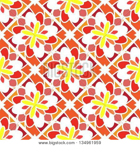 Geometric seamless pattern. Vector illustration. Endless texture can be used for wallpaper, pattern fills, web page background, surface textures