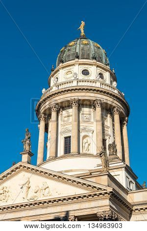 German cathedral at the Gendarmenmarkt in Berlin