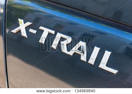 Nissan  X-trail Suv Car Logo