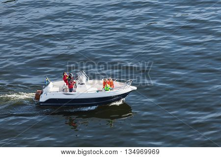 Swedish Family Does A Boat Trip
