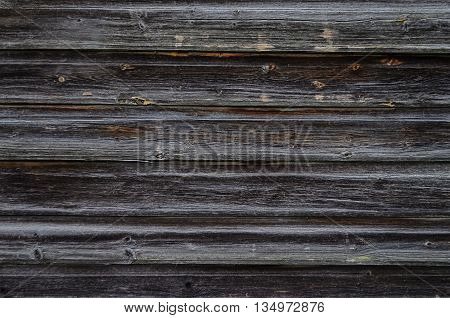 Close up of old natural weathered gray wooden boards background