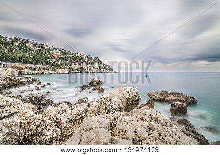 France, Nice, Cote d'Azur - Cap de Nice