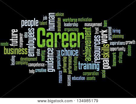 Career, Word Cloud Concept 7