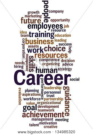 Career, Word Cloud Concept 9