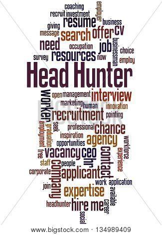 Head Hunter, Word Cloud Concept 2