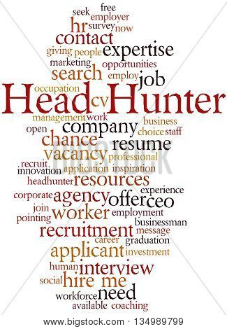 Head Hunter, Word Cloud Concept 9