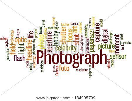 Photograph, Word Cloud Concept 2