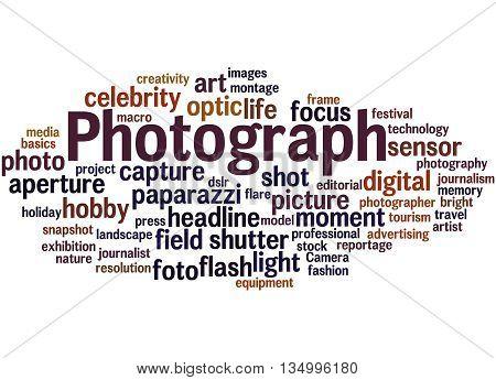Photograph, Word Cloud Concept 9